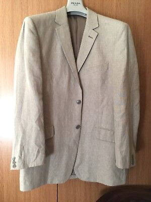 French Connection Linen Suit 42