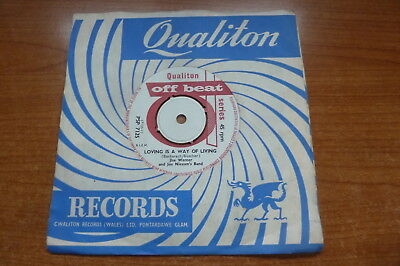 Jlse Werner - Loving Is A Way Of Living 1961 UK 45 QUALITON POPCORN