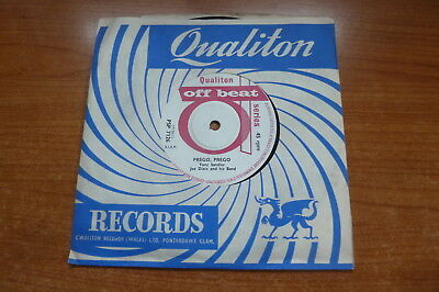 Tony Sandler w/ Joe Dixie & His Band - Prego, Prego 1961 UK 45 QUALITON POPCORN