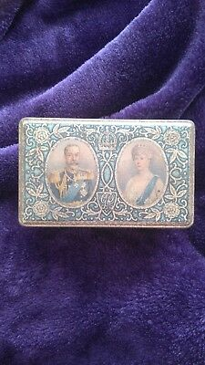silver jubilee biscuit tin