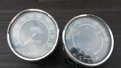 Rover P4 Instruments