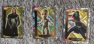 3 Marvel Missions Limited Addition Cards