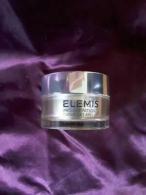 New Elemis Pro-Definition Night Cream 30 Ml
