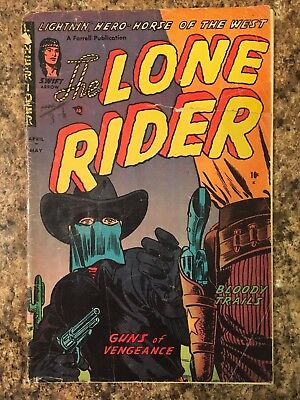 THE LONE RIDER #13 (1953 Golden Age Comic) Good