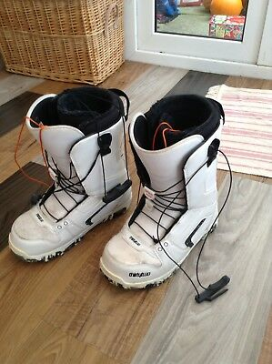 Men's Size 9 Uk Thirtytwo Snowboarding Boots 32 Prion Snow Camp