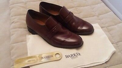 Barker Campbell Men's Brown Shoes Size UK 9 G Very Good Condition