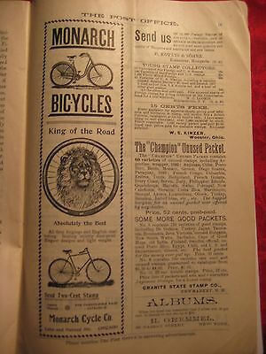 July 1894 Monarch Bicycles-King Of The Road- In The Post Office Magazine Pg Ix
