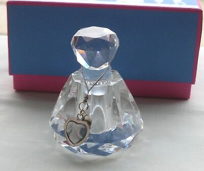 Wedgwood Muse Cameo Lead Crystal  Perfume Bottle (Boxed)