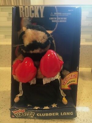 2002 Gemmy 'clubber Lang' Rocky Dancing Hamster - Very Rare & Hard To Find!