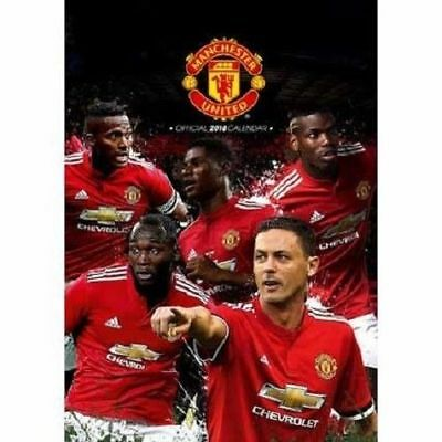 Official Licensed 2018 Manchester United Calendar