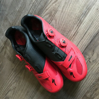 Specialized S-Works XC Mountain Bike Shoes - Red - Size 43