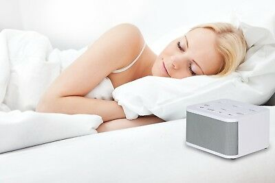 White Noise Sound Machine 6 Natural Sounds Soothing Sleep Therapy Relax Nature