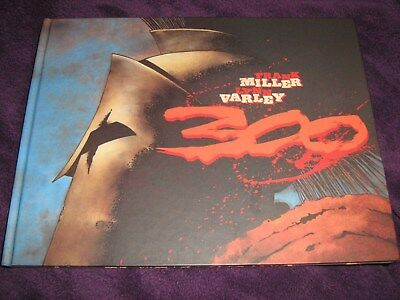 300 Graphic Novel by Frank Miller Hardcover book