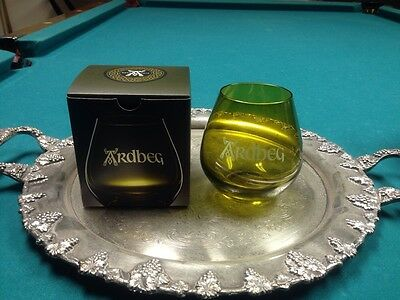 NEW Ardbeg Scotch Whisky Collector's Branded Glasses w/ Box