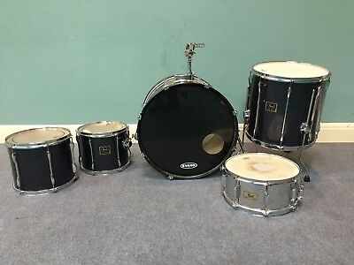 Pearl Export drum shells - Bass drum, 2 mounted toms, floor tom and snare