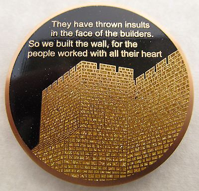 Bible Nehemiah Geocoin - Tobiah Edition - Sparkle Enamel - Limited Edition