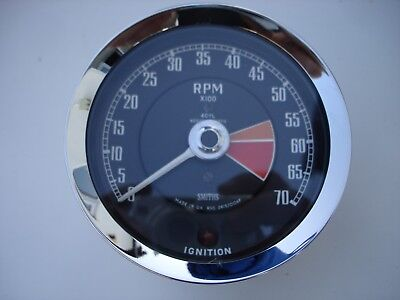 Smiths  Rev Counter / Tachometer Negative Earth Rvc 2415/00Af Mg Mgb Midget