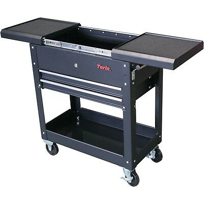 Torin Adjustable Table Tool Cart Garage Rolling Storage Chest Box