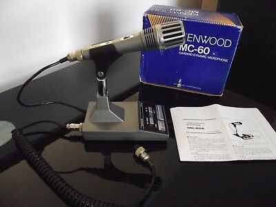 Kenwood MC- 60 A base microphone ,boxed