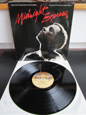 Giorgio Moroder ‎– Midnight Express (Original Motion Picture Soundtrack) LP
