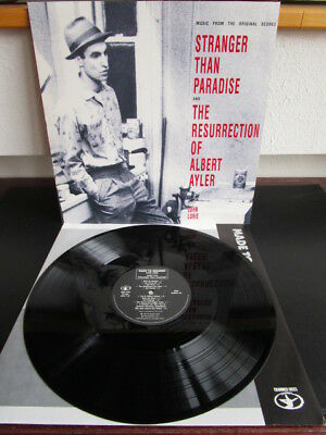 John Lurie ‎– Stranger Than Paradise And The Resurrection Of Albert Ayler LP