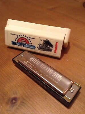 Hohner Big River Harp Harmonica Mouth Organ In 'C' ,never Used