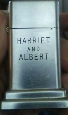 Vintage Zippo Barcroft Table Lighter - Harriet and Albert