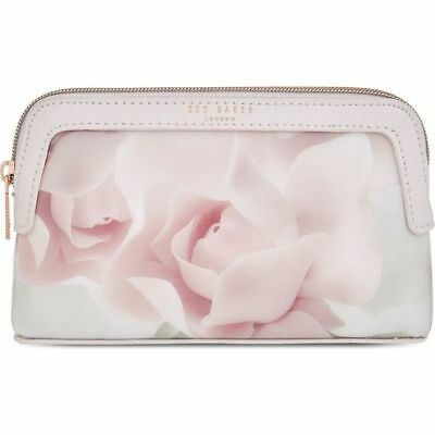 TED BAKER large Wash Bag Make Up Bag SHELLA Porcelain Rose pink