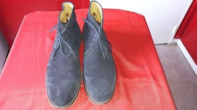 Aa512) Chaussure Boots Paul Smith  A Lacets 10  44  Super Etat