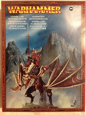 Warhammer age of sigmar Vampire Counts Zombie Dragon