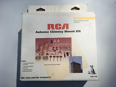 New Rca Antenna Chimney Mount Kit Vh146 Mounts Antenna To