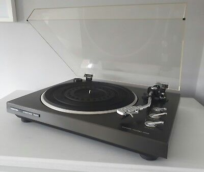 Toshiba SR-A230 belt drive turntable fitted with Ortofon OM-3E cartridge