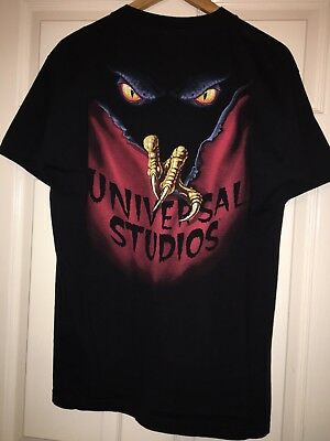 Horror Nights VI 1996 - Halloween Vintage Collectable Universal Studios  T Shirt