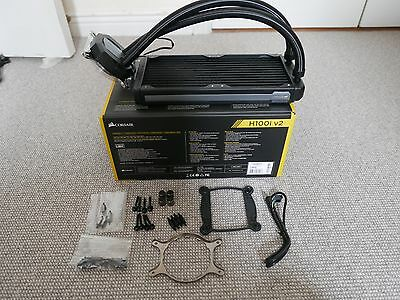 Corsair Hydro Series H100i v2 Extreme Performance Liquid CPU Cooler 240mm