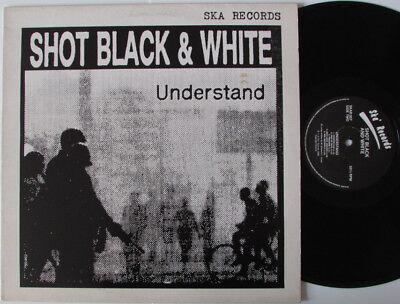 SHOT BLACK & WHITE - Understand LP 1988 TWO TONE SKA 1988 UK LP on Ska Records
