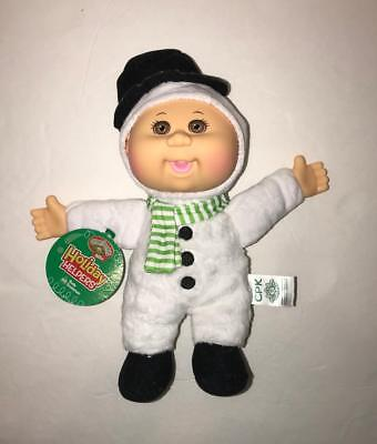 Cabbage Patch Kids Cuties Holiday Helpers Rudy Snowman Scented NEW