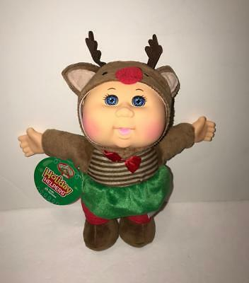 Cabbage Patch Kids Cuties Holiday Helpers Holly Reindeer Scented NEW