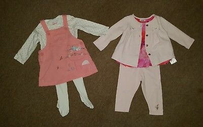 designer baby girls clothes bundle age 3-6 months...Ted Baker and Bluezoo