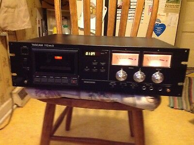 Tascam 112 MkII, Professional Cassette Deck Works & Sounds Great