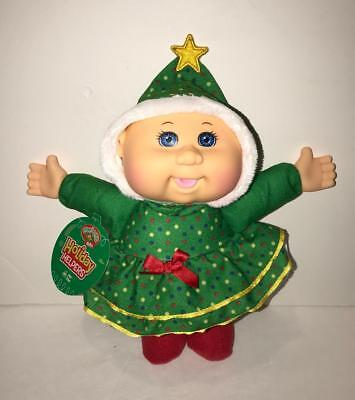 Cabbage Patch Kids Cuties Holiday Helpers Joy Tree Doll Scented NEW