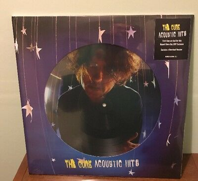 The Cure - Acoustic Hits Double Vinyl Picture Disc New & Sealed RSD 2017