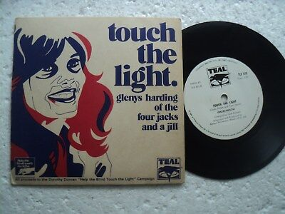 FOUR JACKS AND A JILL - Touch the Light   - RARE unseen  S.Rhodesia 45 RPM / P.S