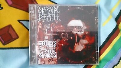 Napalm Death - Noise For Music's Sake CD