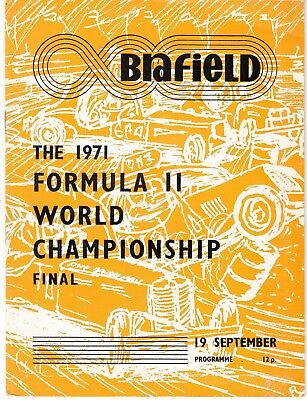 Stock Car 1971 Formula II World Championship Final @ Brafield