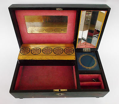 Vintage Japanese Lacquer Jewerly Music Box