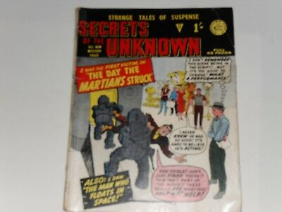 Secrets Of The Unknown, #27 Alan Class Suspence Comic