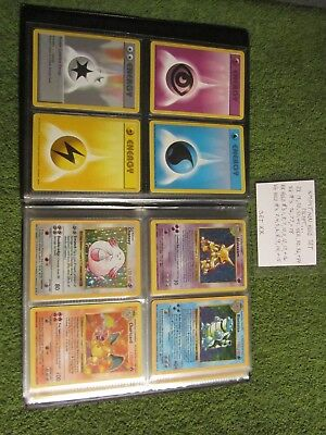 Complete Ungraded Shadowless Base Pokemon Set 103/102 in Varied Conditions
