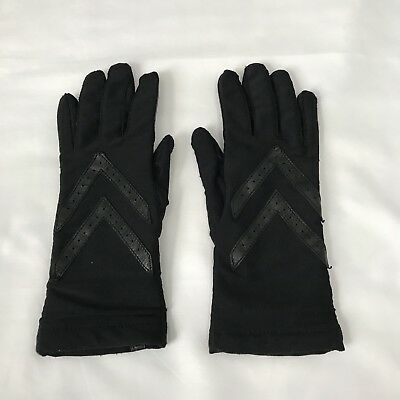 Isotoner Black Womens Gloves