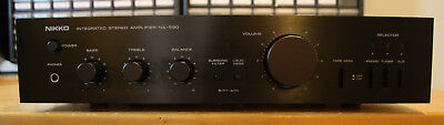 Nikko NA-590 Vintage Stereo 35W Solid State Amplifier, Tested and Working