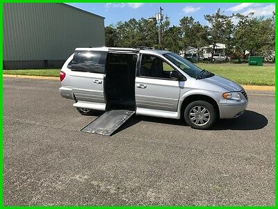 2005 Chrysler Town & Country Limited VAN WHEELCHAIR HANDICAP SUNROOF EZY LOC2005 Limited Used 3.8L V6 12V Automatic